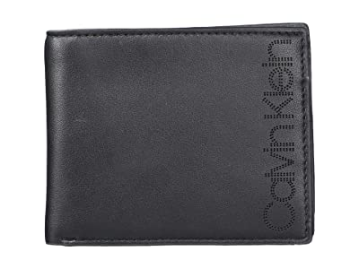 Calvin Klein Perf Logo Billfold (Black) Bi-fold Wallet