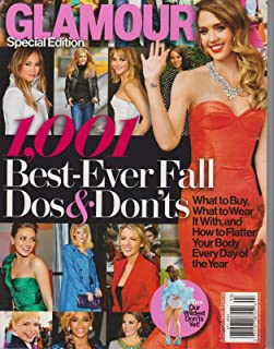 GLAMOUR Magazine SPECIAL EDITION 2013, 1001 BEST-EVER FALL Dos & Don'ts.
