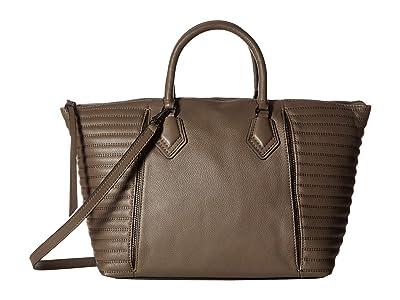 Botkier Moto Satchel (Winter Grey) Satchel Handbags