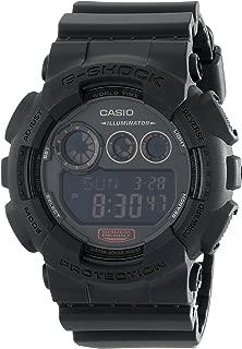 Casio G-Shock GD-120 Military Black Sports Stylish Watch (Black/One Size)