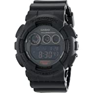 Casio G-Shock GD-120 Military Black Sports Stylish Watch (Black/One Size)