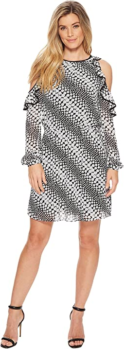 MICHAEL Michael Kors Cold Shoulder Dress