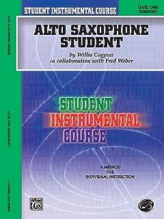 Alto Saxophone Student, Level One: Elementary