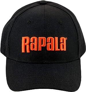 Rapala Orange 3D Logo Black Perforated Mesh Back Cap - Officially Licensed