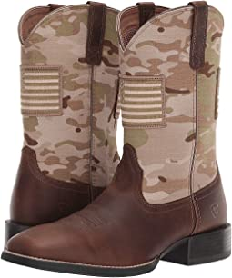 Distressed Brown/Multicam Arid