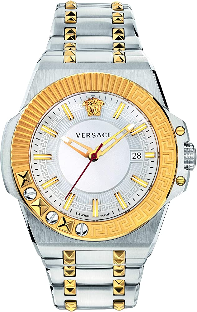Versace chain reaction orologio uomo in accio inossidabile VEDY00519