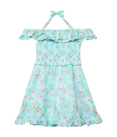 Janie and Jack Off Shoulder Dress (Toddler/Little Kids/Big Kids)