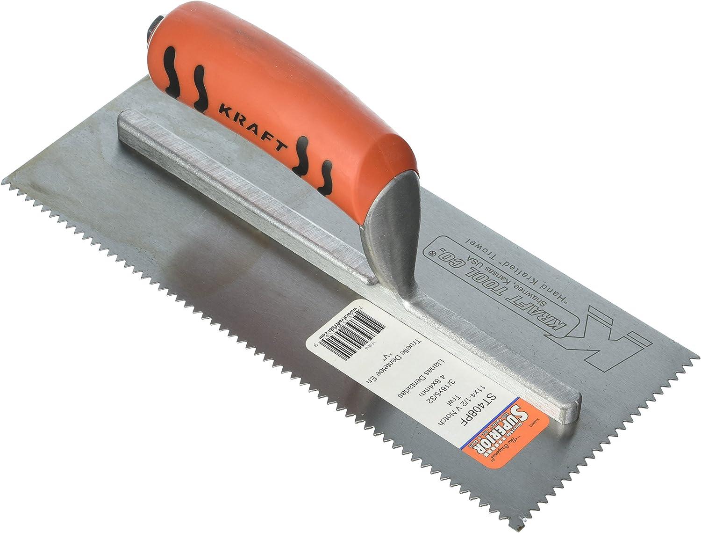 Kraft Werkzeug st408pf Sägezahnung Notch Maurerkelle mit Proform Griff B00BU9A9DS   Spaß