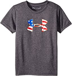 Americana Big Logo Short Sleeve (Little Kids/Big Kids)