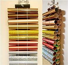 Vinyl Roll Holder, Diamond Painting, Holds 22 Rolls-11 on Each side-Gray-Black-The Roll Keeper