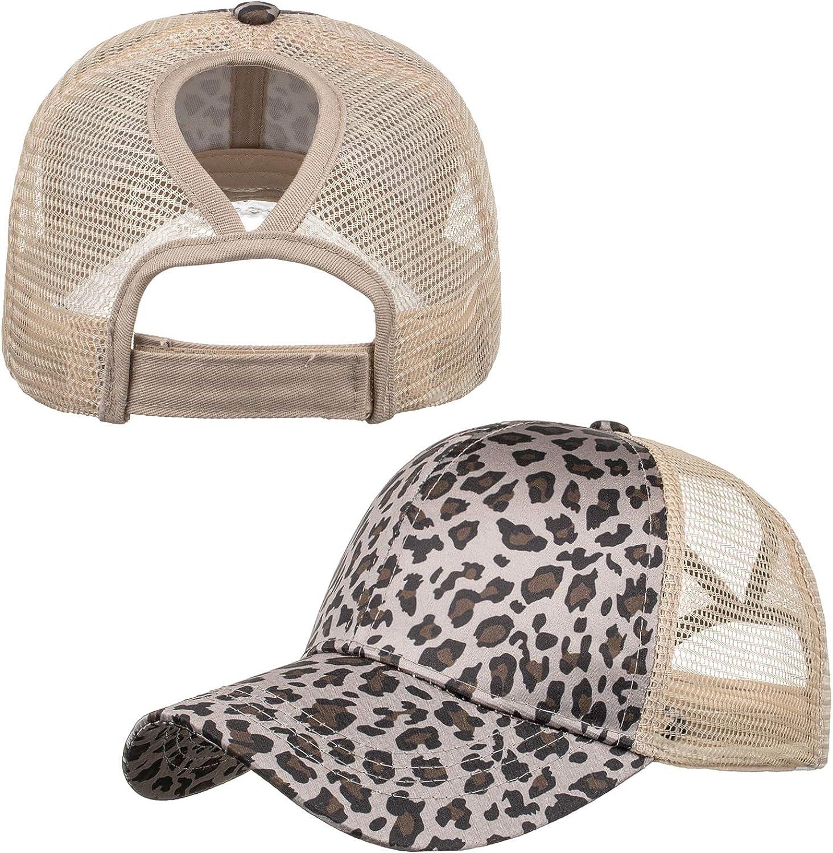 TOPTIE Vintage Messy High Bun Adjusta Washed Hat Cotton Ponytail Excellence Overseas parallel import regular item