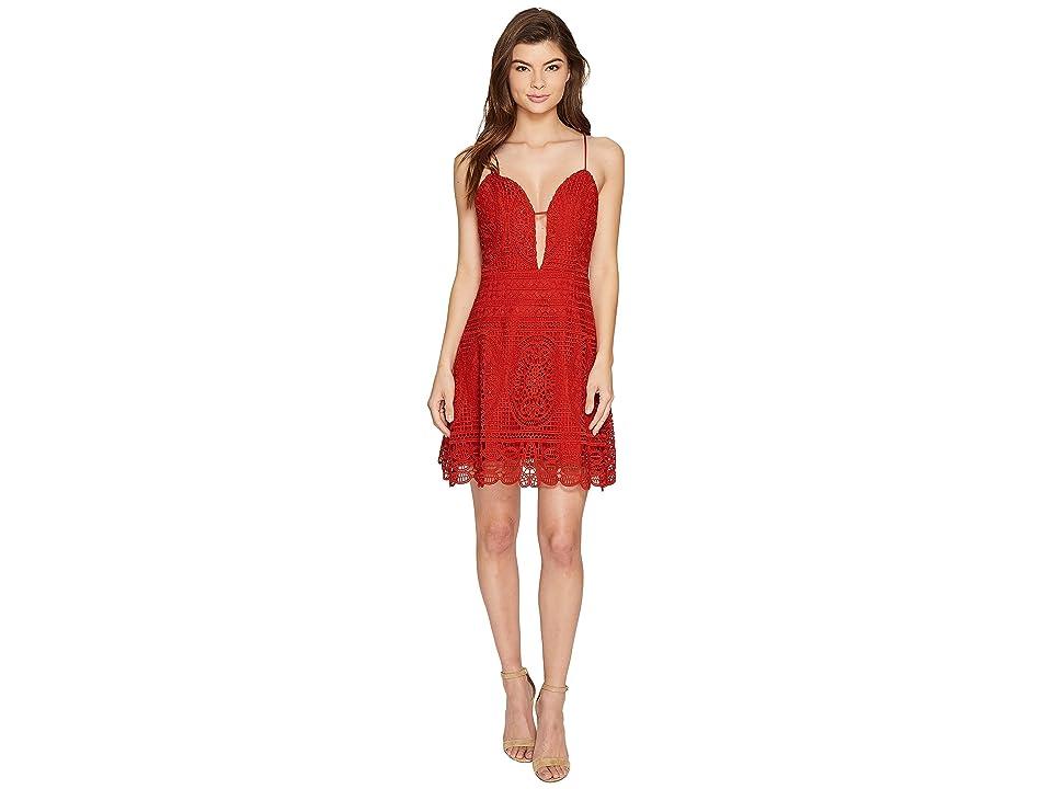 Lovers + Friends Orchard Dress (Red) Women