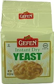 Gefen, Instant Dry Yeast, 1 pound (4 Pack)