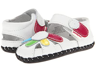 pediped Daisy Original (Infant) (White Multi) Girls Shoes