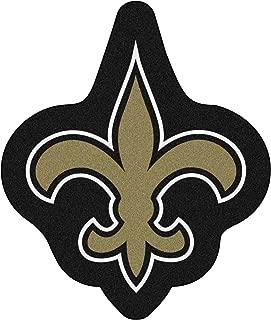 FANMATS 20979 Team Color 3' x 4' NFL - New Orleans Saints Mascot Mat