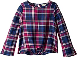 Dana Yarn-Dye Plaid Top (Big Kids)
