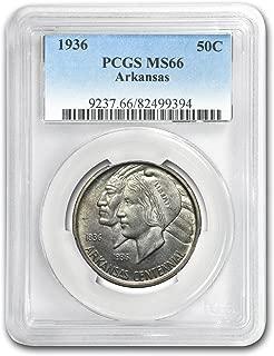 1936 Arkansas Centennial Half Dollar MS-66 PCGS Half Dollar MS-66 PCGS