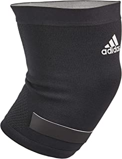 'Adidas Performance Climacool Breathable Knee Support Compression Sleeve with Moisture Wicking Technology, Black, Size Small'
