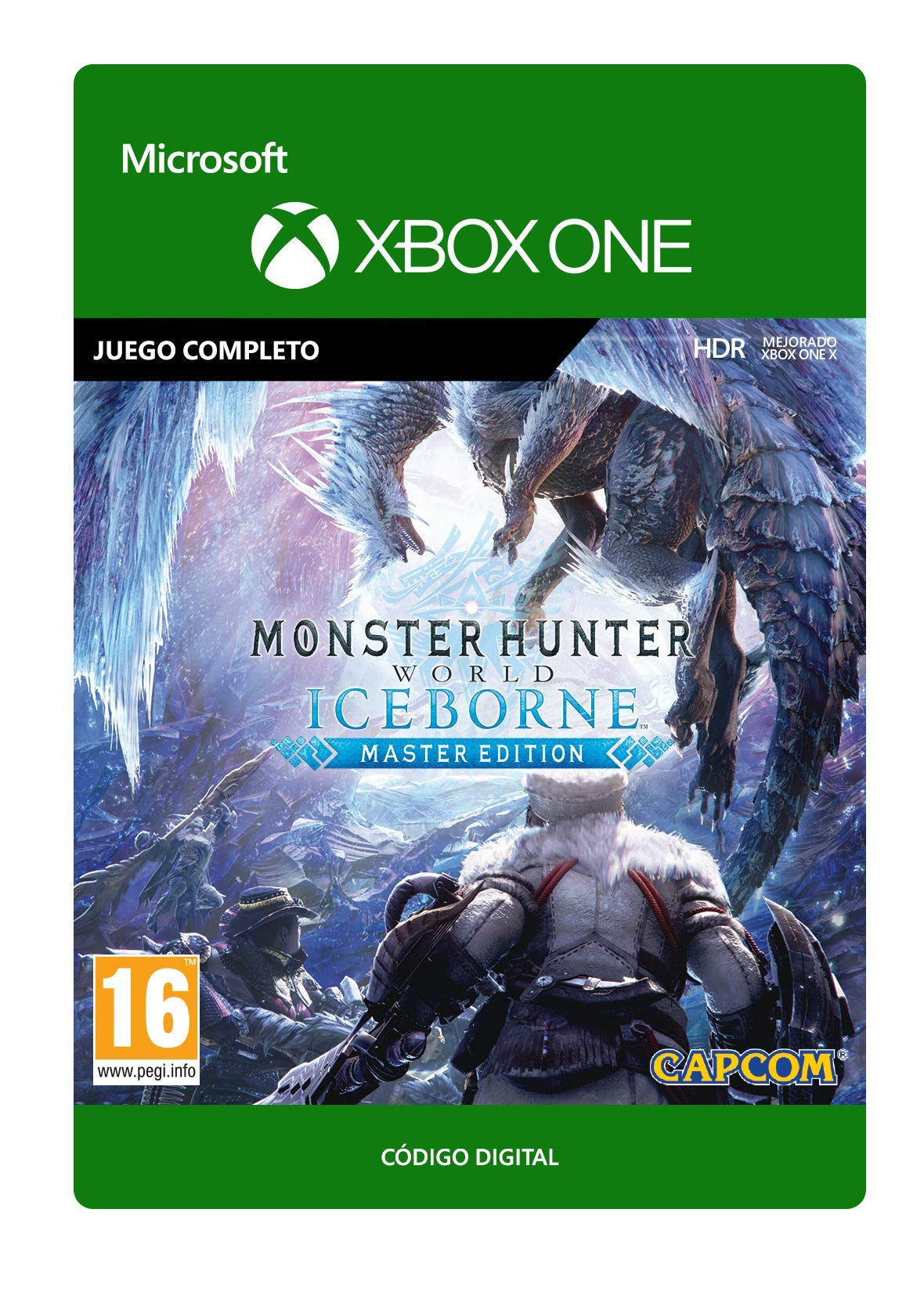 Monster Hunter World: Iceborne Master Edition Standard | Xbox One - Código de descarga: Amazon.es: Videojuegos