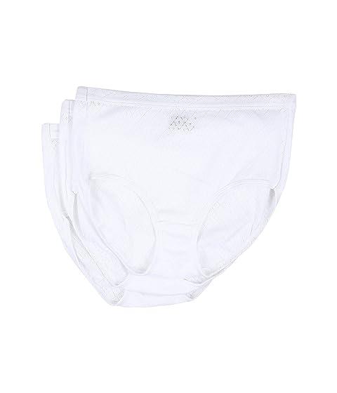 3 Brief blanco paquete Jockey Elance de Breathe 8qnFngwA