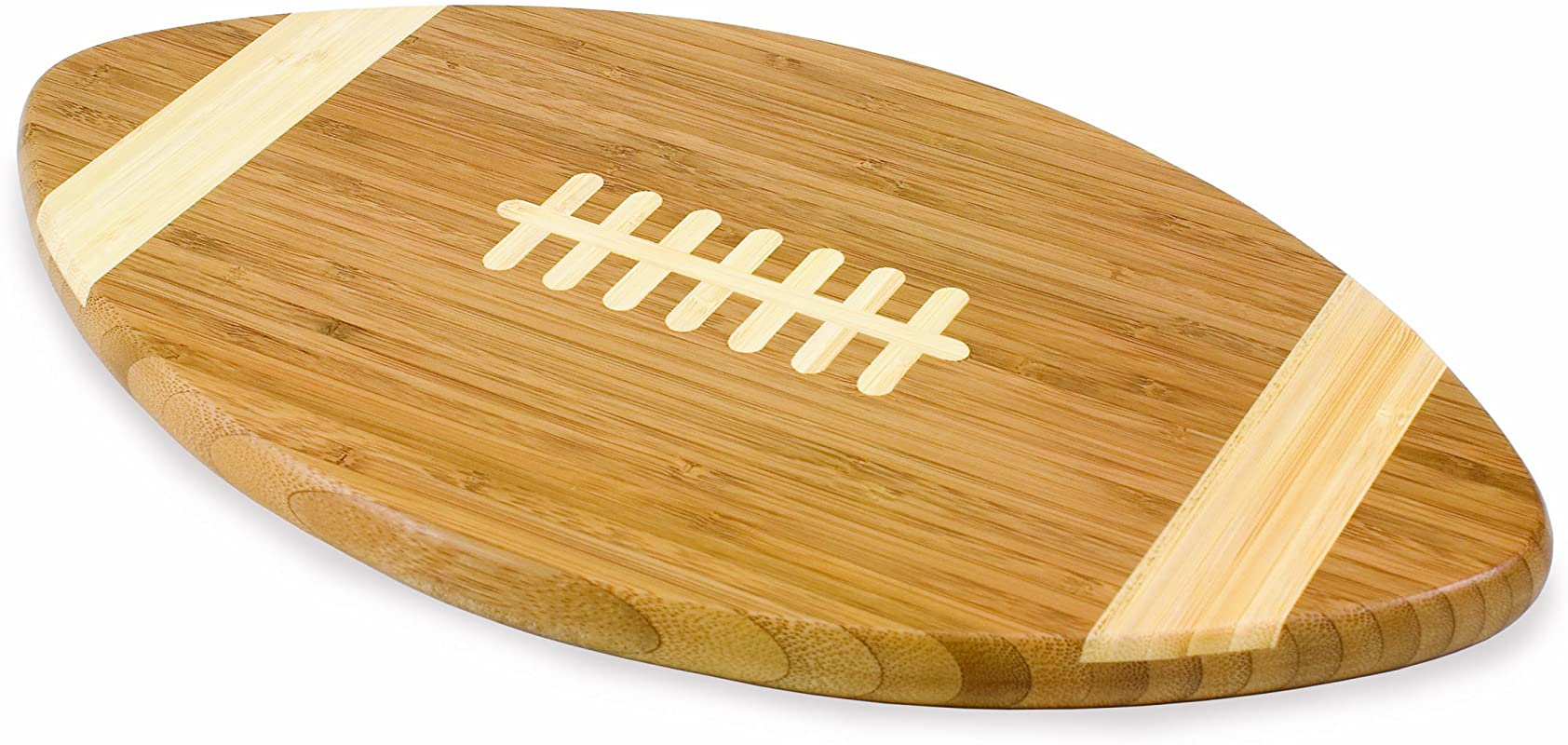 TOSCANA A Picnic Time Brand Touchdown Bamboo 16 Inch Cutting Board
