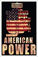 Spitzy's American Power Muscle Car Enthusiast Power Poster (12