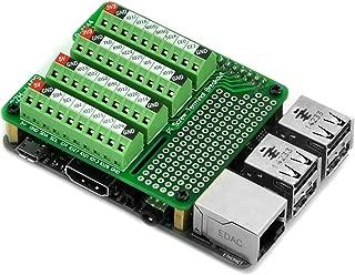 Electronics-Salon Pi Screw Terminal Block Breakout Module, for Raspberry Pi.