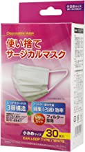 [Nationwide Mask Industrial Member] Mask, Disposable, Surgical Mask, Small Size, 30 Pieces