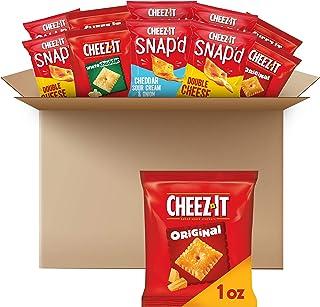 Cheez-It ، اسنک ، بسته واریته ، ساخته شده با 100٪ پنیر واقعی ، مورد 2.359 پوند (42 شمارش)