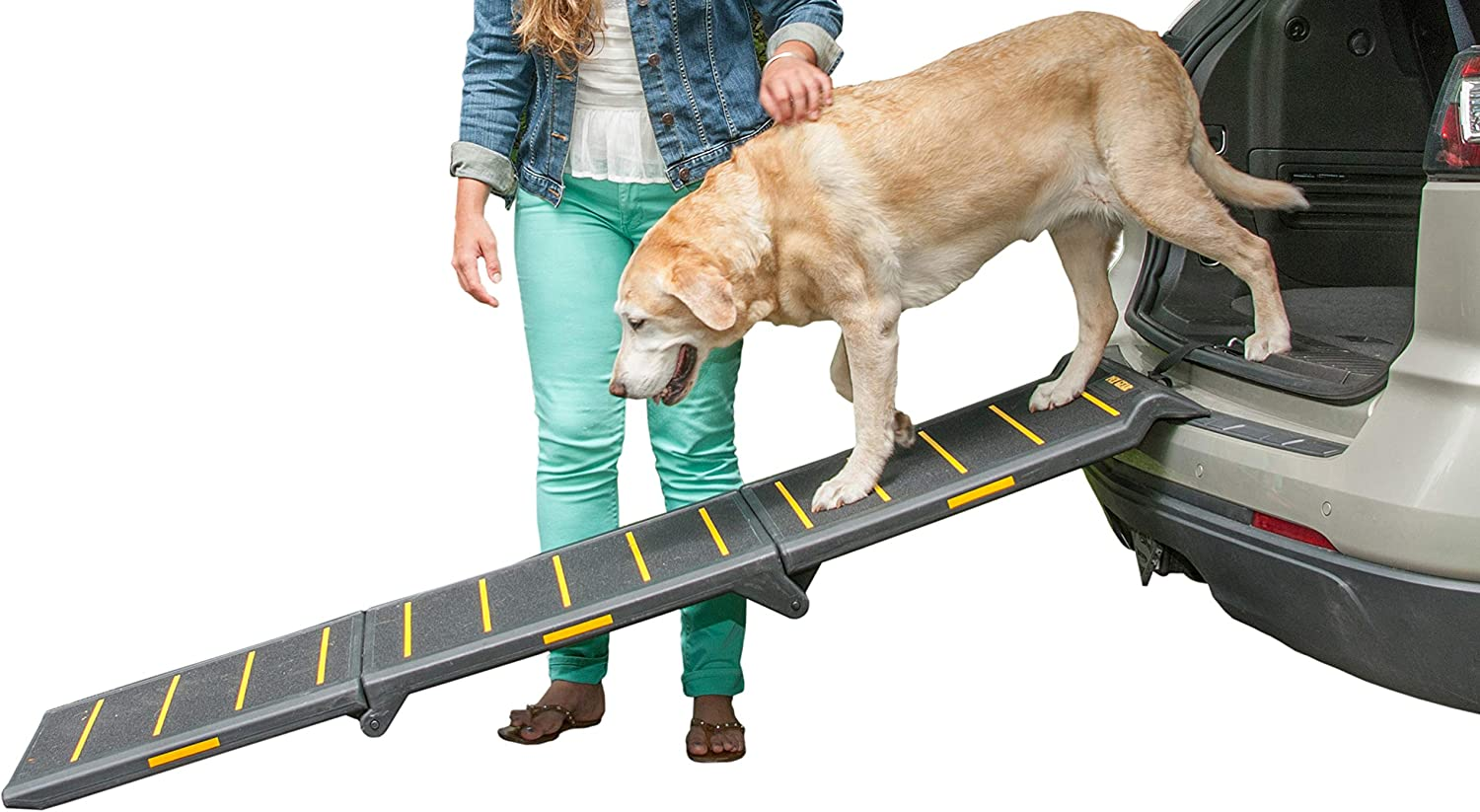 Max Super-cheap 83% OFF Pet Gear Tri-Fold Ramp 71 Long Extra Wide Portable Inch
