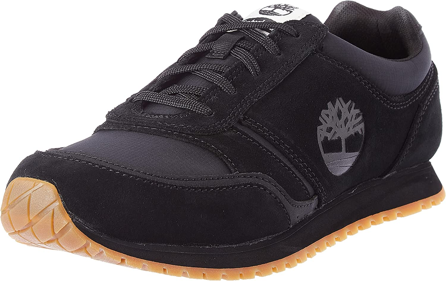 Timberland Lufkin Fabric and Leather Oxford Sneaker Basic, Zapatillas Hombre