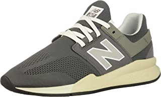 New Balance Ms247Mm Mens Running Mesh Lace Trainer In Grey White