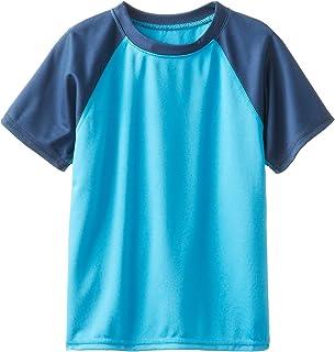 Kanu Surf Boys' Short Sleeve UPF 50+ Rashguard Swim Shirt