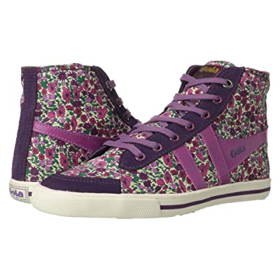 Gola Gola + Liberty Art Fabricstm Quota High Petal (Damson/Berry) Women