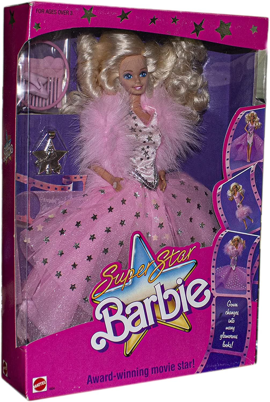 Amazon.com: Barbie 1604 1988 Super Star Award-Winning Movie Star ...