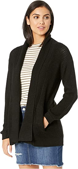 Cover Me Waffle Sttitch Cardigan