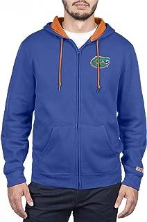 Top of the World NCAA Mens Zip Up Hoodie Sweatshirt Team Applique Icon