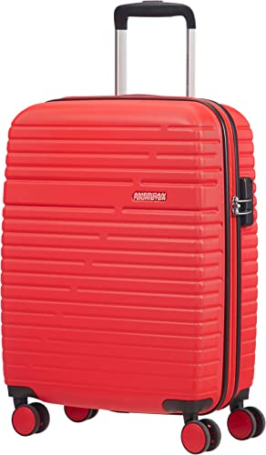 American Tourister Aero Racer Spinner 55 - 2,5 Kg Bagage cabine, 37 liters, Rouge (Poppy Red)