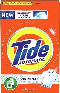 Tide Automatic Original Scent Detergent Powder - front & Top load 4.5 Kg, Pack of 1