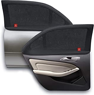 ROYAL RASCALS Window Sock x2 - Car Sun Shade for Babies and Children - 40+ UV Sun Protection from Harmful UV Rays - 100% W...