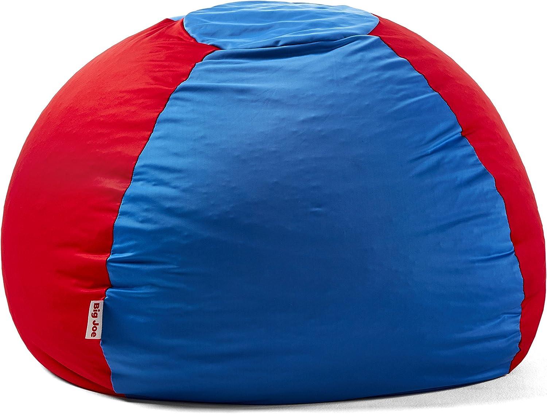 Big Joe 1175284 Kushi Beanbag Chair, Victoria bluee Racing Red