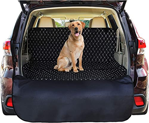high quality Pawple outlet sale Pets SUV Cargo sale Liner Cover for SUVs and Cars, Waterproof Material, Non Slip Backing, Extra Bumper Flap Protector, Large Size - Universal Fit online sale