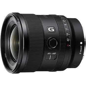 Sony Sel-20F18G Obiettivo Grandangolo a Focale Fissa 20 Mm F1.8, Serie G, Mirrorless Full-Frame, Attacco E, Sel20F18G, Nero