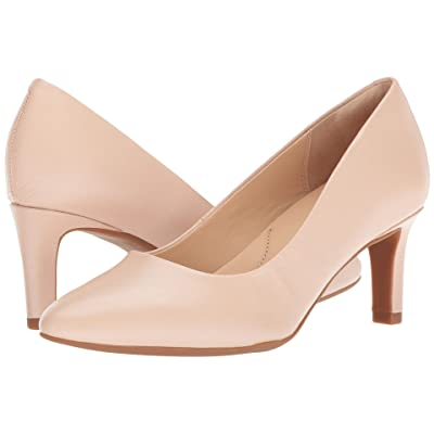 Clarks Calla Rose (Cream Leather) High Heels