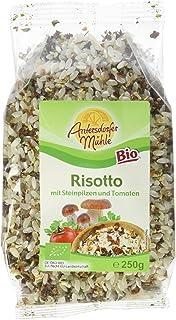 Antersdorfer Bio-Mühle Risotto mit Steinpilzen und Tomaten, 6er Pack 6 x 250 g