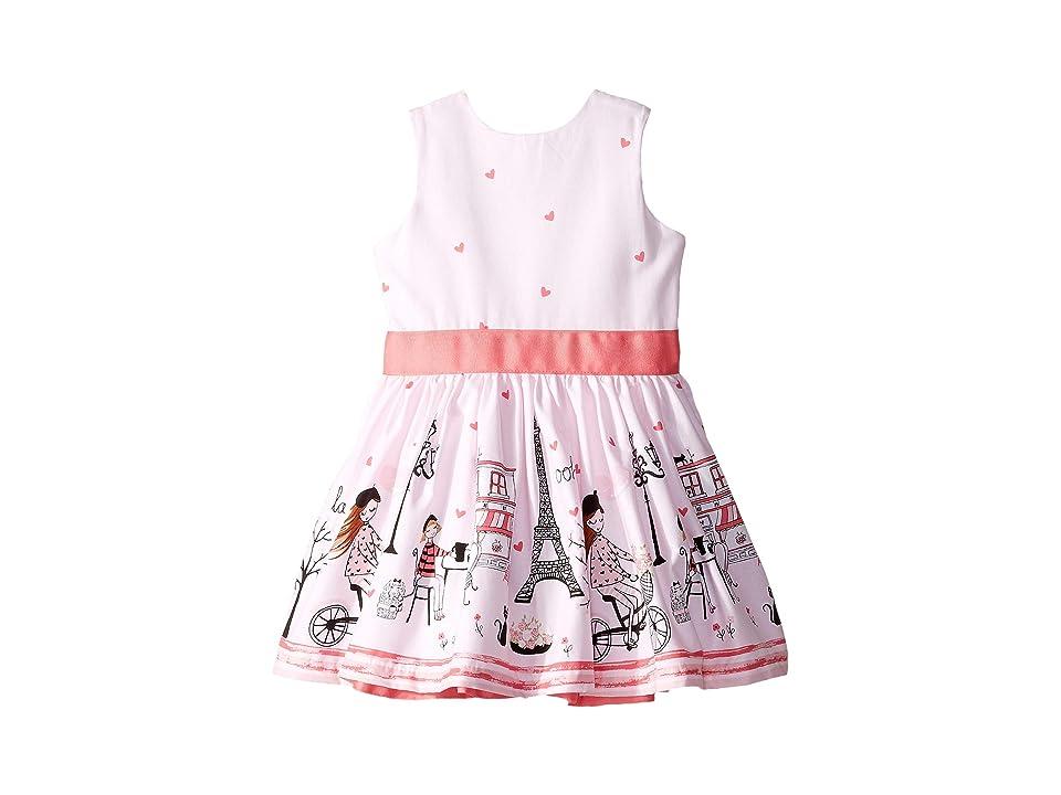 fiveloaves twofish Ohlala Party Dress (Toddler/Little Kids/Big Kids) (Pink) Girl