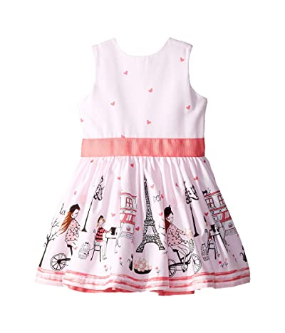fiveloaves twofish Ohlala Party Dress (Toddler/Little Kids/Big Kids) (Pink) Girl