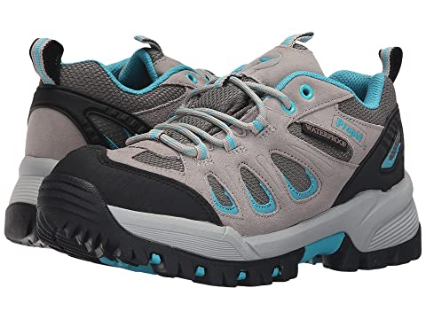 Ridge Turquoise Grey Propet Low Light Walker 0UqUvfwd