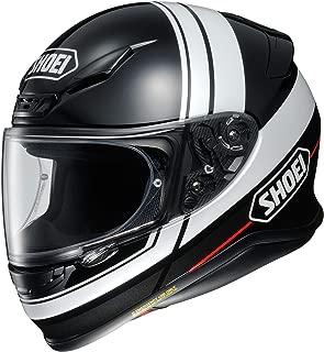 Shoei RF-1200 Full Face Motorcycle Helmet Philosopher TC-5 White/Black Medium (More Size Options)