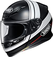Shoei RF-1200 Full Face Motorcycle Helmet Philosopher TC-5 White/Black Large (More Size Options)